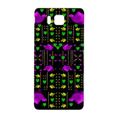 Pure Roses In The Rose Garden Of Love Samsung Galaxy Alpha Hardshell Back Case