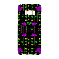 Pure Roses In The Rose Garden Of Love Samsung Galaxy S8 Hardshell Case