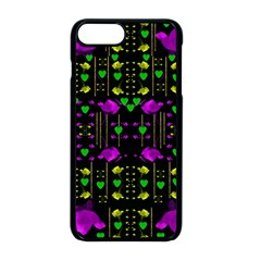 Pure Roses In The Rose Garden Of Love Apple Iphone 8 Plus Seamless Case (black)