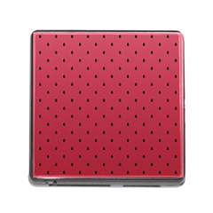 Watermelon Minimal Pattern Memory Card Reader (square)