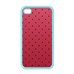 Watermelon Minimal Pattern Apple Iphone 4 Case (color)