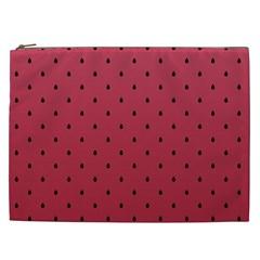 Watermelon Minimal Pattern Cosmetic Bag (xxl)