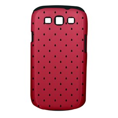 Watermelon Minimal Pattern Samsung Galaxy S Iii Classic Hardshell Case (pc+silicone)