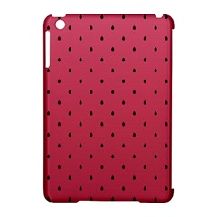 Watermelon Minimal Pattern Apple Ipad Mini Hardshell Case (compatible With Smart Cover)
