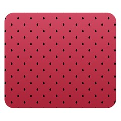 Watermelon Minimal Pattern Double Sided Flano Blanket (small)