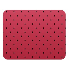 Watermelon Minimal Pattern Double Sided Flano Blanket (large)