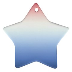 Red And Blue Ornament (star)