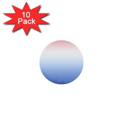 Red And Blue 1  Mini Buttons (10 Pack)
