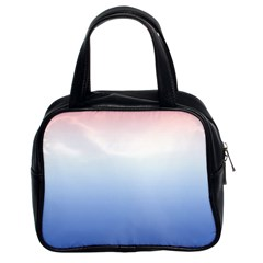 Red And Blue Classic Handbags (2 Sides)