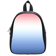 Red And Blue School Bag (small)