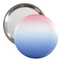 Red And Blue 3  Handbag Mirrors
