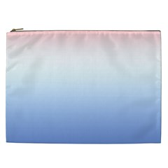 Red And Blue Cosmetic Bag (xxl)