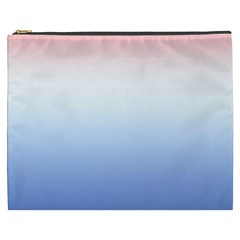 Red And Blue Cosmetic Bag (xxxl)