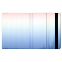 Red And Blue Apple Ipad 3/4 Flip Case
