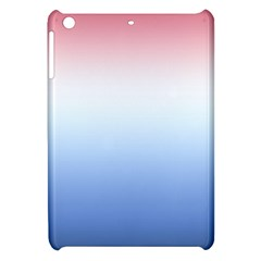 Red And Blue Apple Ipad Mini Hardshell Case