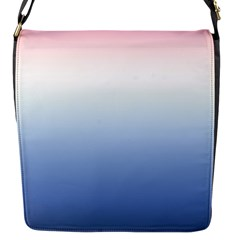 Red And Blue Flap Messenger Bag (s)