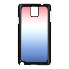 Red And Blue Samsung Galaxy Note 3 N9005 Case (black)