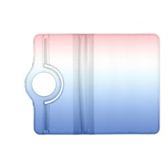 Red And Blue Kindle Fire Hd (2013) Flip 360 Case