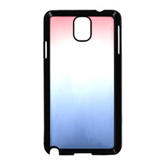 Red And Blue Samsung Galaxy Note 3 Neo Hardshell Case (black)