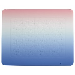 Red And Blue Jigsaw Puzzle Photo Stand (rectangular)