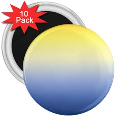 Sun Goes Down 3  Magnets (10 Pack)