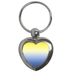 Sun Goes Down Key Chains (heart)