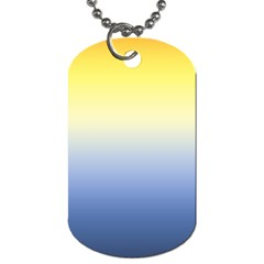 Sun Goes Down Dog Tag (two Sides)