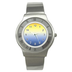 Sun Goes Down Stainless Steel Watch