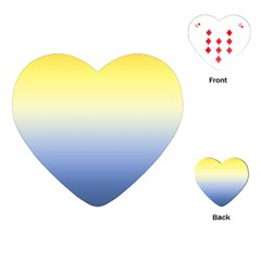 Sun Goes Down Playing Cards (heart)