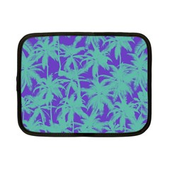 Electric Palm Tree Netbook Case (small)