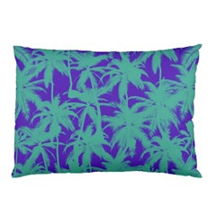 Electric Palm Tree Pillow Case