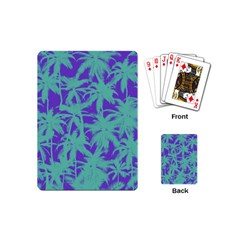 Electric Palm Tree Playing Cards (mini)