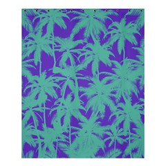 Electric Palm Tree Shower Curtain 60  X 72  (medium)