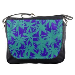 Electric Palm Tree Messenger Bags