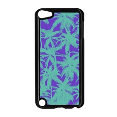 Electric Palm Tree Apple Ipod Touch 5 Case (black)