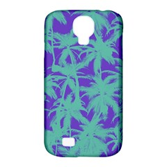 Electric Palm Tree Samsung Galaxy S4 Classic Hardshell Case (pc+silicone)