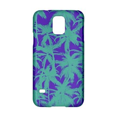 Electric Palm Tree Samsung Galaxy S5 Hardshell Case