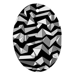 Polynoise Lowpoly Ornament (oval)