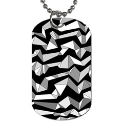 Polynoise Lowpoly Dog Tag (one Side)
