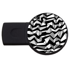 Polynoise Lowpoly Usb Flash Drive Round (4 Gb)