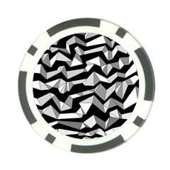 Polynoise Lowpoly Poker Chip Card Guard (10 Pack)
