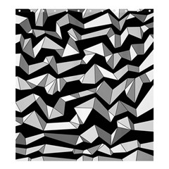 Polynoise Lowpoly Shower Curtain 66  X 72  (large)