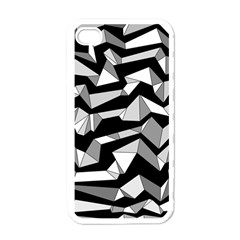 Polynoise Lowpoly Apple Iphone 4 Case (white)