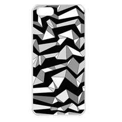 Polynoise Lowpoly Apple Iphone 5 Seamless Case (white)