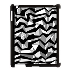 Polynoise Lowpoly Apple Ipad 3/4 Case (black)