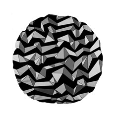 Polynoise Lowpoly Standard 15  Premium Flano Round Cushions