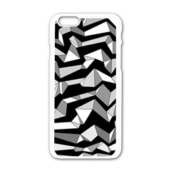 Polynoise Lowpoly Apple Iphone 6/6s White Enamel Case