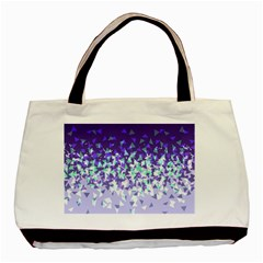 Purple Disintegrate Basic Tote Bag (two Sides)