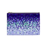 Purple Disintegrate Cosmetic Bag (Medium)  Front