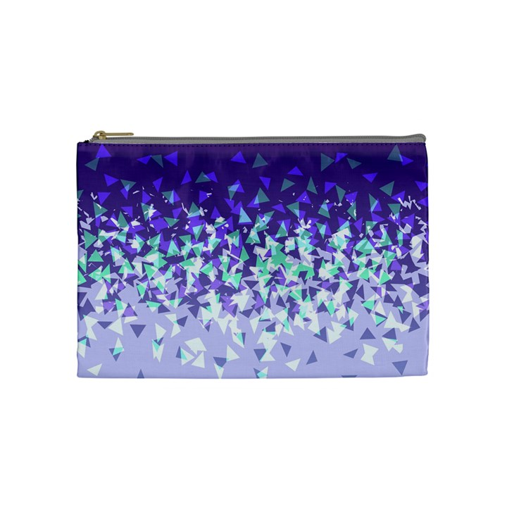 Purple Disintegrate Cosmetic Bag (Medium)